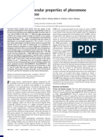 Kinetics and Molecular Properties of Pheromone