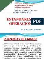1º CLASE - ESTANDARES DE OPERACIONES