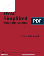 HVAC Simplified Solution Manual