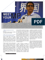 Meet Your MP - Issue 5 UniVantage - September 2011