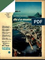 Propaganda Electra Da Varig - 1968