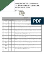 4 - Claar-Smith - Fine Arts, PE, Health, Etc