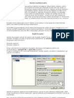 OpenGL Oyunlarına giriş -1 , programlama