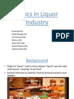 Final Liquor Industry