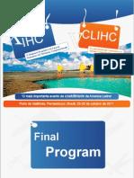 IHC+CLIHC'2011 – Final Program
