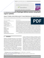 A Feasibility Analysis of Hydrogen Delivery System Using Liquid