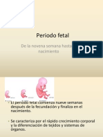 Periodo fetalPLACENTAEDEL
