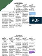 3 Mink Weaver Language Arts Charts