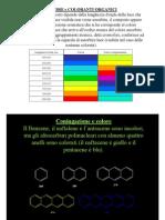 Colore e Coloranti Organici