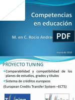Competencias en educación.
