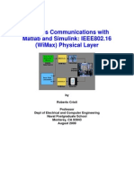 Wireless Communications With Matlab and Simulink
