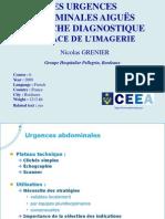 Urgences Chirurgicales Et Radiologie
