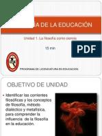 Filosofia de La Educacion u2