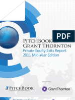 PitchBook GT Exits Report 1H2011