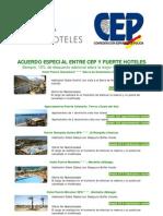 CEP y Fuerte Hoteles Acuerdo Especial