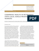 Comparing Wealth in Retirement