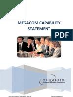 Megacom Capability Statement English
