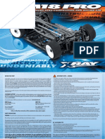 XRAY M18 PRO Instruction Manual