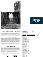 Cruelty Free Shopping Guide (PDF Document, SHAC) Vivisection, Vegan, Vegans, Veganism, Animals]