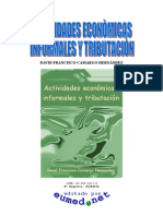 Camargo Hernandez - Actividades Economic As In for Males Y Tributacion