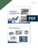 01 Ih - Stamping Fundamentals