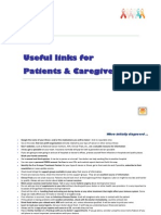 Useful links for Patients and Caregivers
