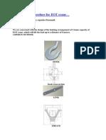 Hoist Design Procedure for EOT Crane