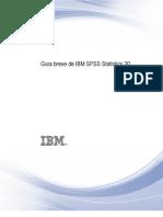 Guía breve de IBM SPSS Statistics 20
