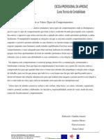 processos identitários (destinguir os vários tipos de comportamentos)