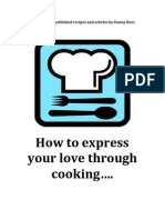How to express your love though cooking