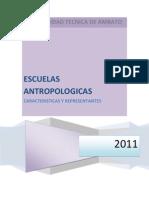 ESCUELAS ANTROPOLÓGICAS