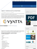 Vyatta 6.3 – Transforme o seu PC num Router-Firewall