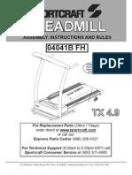Treadmill TX 4.9