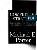 Competitive StrategyMporter