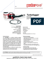 Product Bulletin PulsFOG Turbofogger