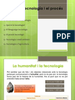 TEMA 1 - La tecnología i el procés tecnològic.