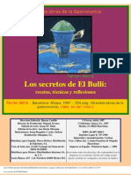 Los Secretos de El Bulli (Adriá, Ferrán)
