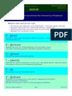 DECIDE Checklist
