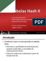 If969 - Tabelas Hash Parte II