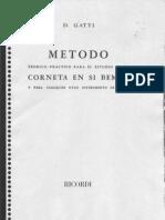 Metodo Gatti Para Corneta en Sib