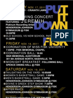 Fisk Homecoming 2011 Flyer Side2