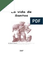 Libro Vida de Santos