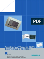 1B - Dimensionamento de instalação elétrica pela demanda de consumo
