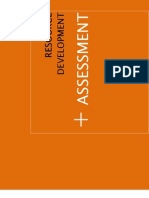 Resource Development Assessment