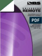 Control Reoto RCA D770 Manual