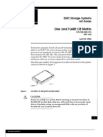 AX-Series Disk and FLARE OE Matrix -- A04