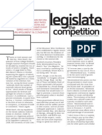 Legislate the Competition