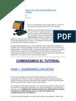 Como Formatear El Pc Paso a Paso Instalar Windows Xp Tutorial