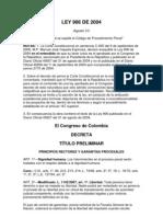 3. Codigo Penal Ley 906 de 2004