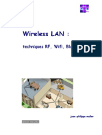 Wireless LAN - Techniques RF, WiFi, Bluetooth